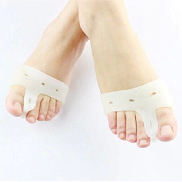 1pair=2pics Genuine New Special Hallux Valgus Bicyclic Thumb Orthopedic Braces To Correct Daily Silicone Toe Big Bone Bunion