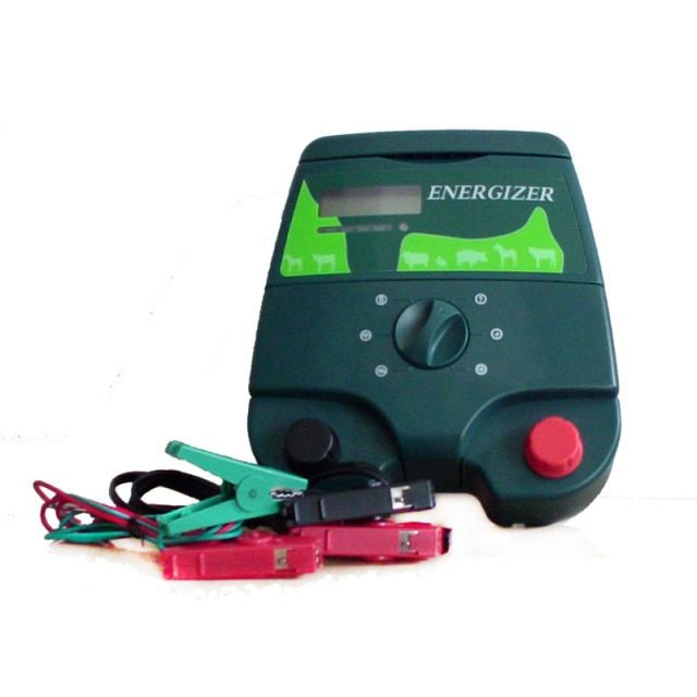 12KV 2J Electric Fence Energizer Energiser Charger with LCD Screen for Farm Protection