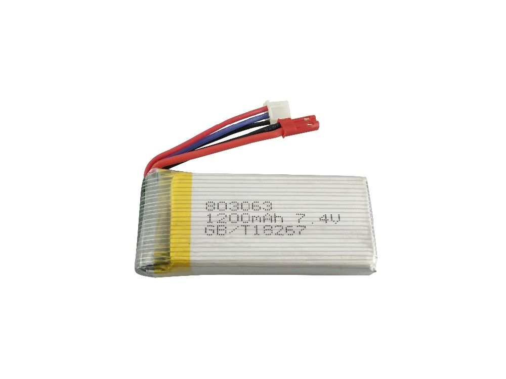 MJX X101 Battery 7.4V 1200mah Battery For MJX X101 Rc Quadcopter Spare Part Battery