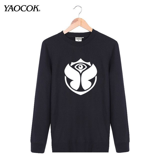 New 2016 Autumn Print Tomorrowland Rock Band Cotton Tracksuits Punk Crewneck Pullover Sweatshirt Men Famous Brand Size XXL