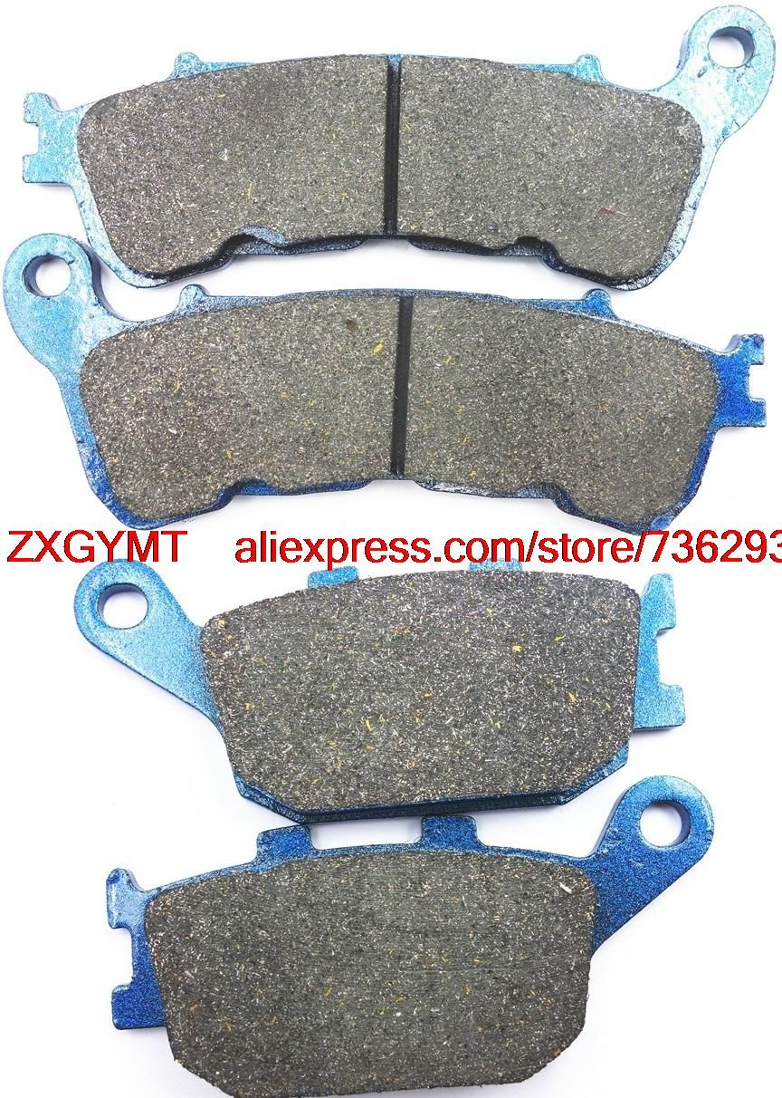 Motorcycle Semi-Metallic Brake Pad Set fit HONDA NC700 NC 700 SA ABS 2012 - 2013