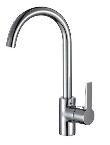 Free shipping Lowest price solid brass kitchen faucet with hot cold ceramic kitchen sink water faucet