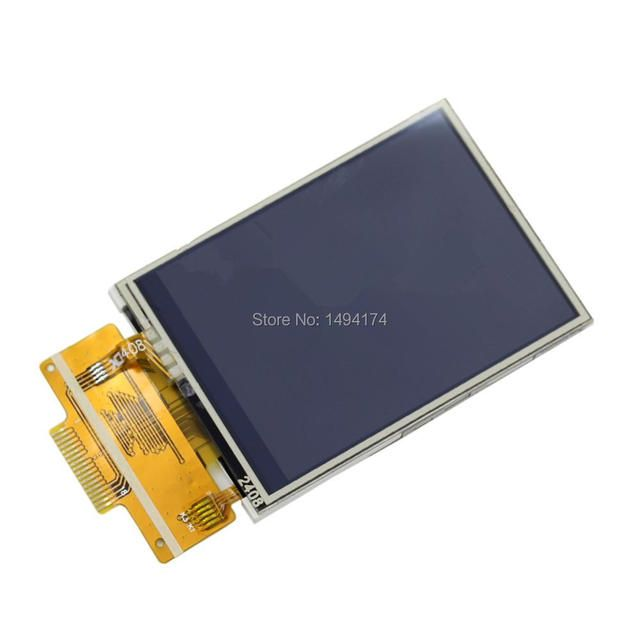 "WQScosea Q8S-150 2.4"" 2.4 Inch 240*320 SPI Serial TFT LCD Display With Touch Panel Screen ILI9341 Driver Backlight Module Board"