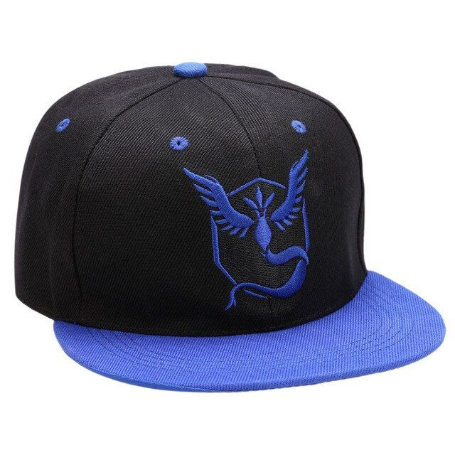 Fashion Men Women Embroidered Baseball Cap Adjustable Snapback Flat Brimmed Cap Unisex