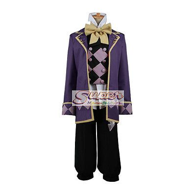 DJ DESIGN Black Butler Joker Uniform COS Clothing Cosplay Costume