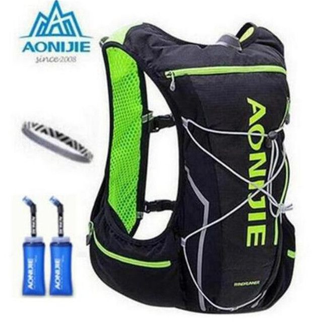 AONIJIE Men Women 10L Bicycle Bag Outdoor Cycling Marathon Running With 2L Backpack Water Hydration Riding Water Bag