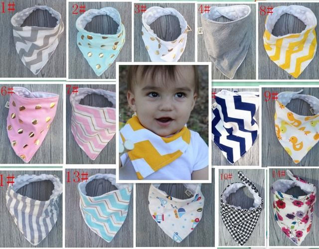 2017 New Arrival Baby Bibs Infant Towel 100% Cotton Bandanas Children Scarf for Baby Boys & Girls 20+ Patterns Baby Clothing
