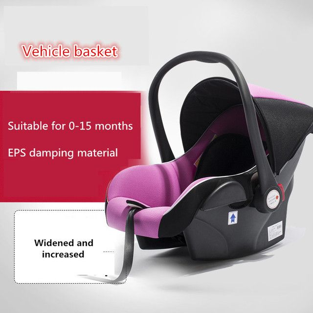 Car car newborn child car seat baby cabarets type chair baby sleeping basket cradle