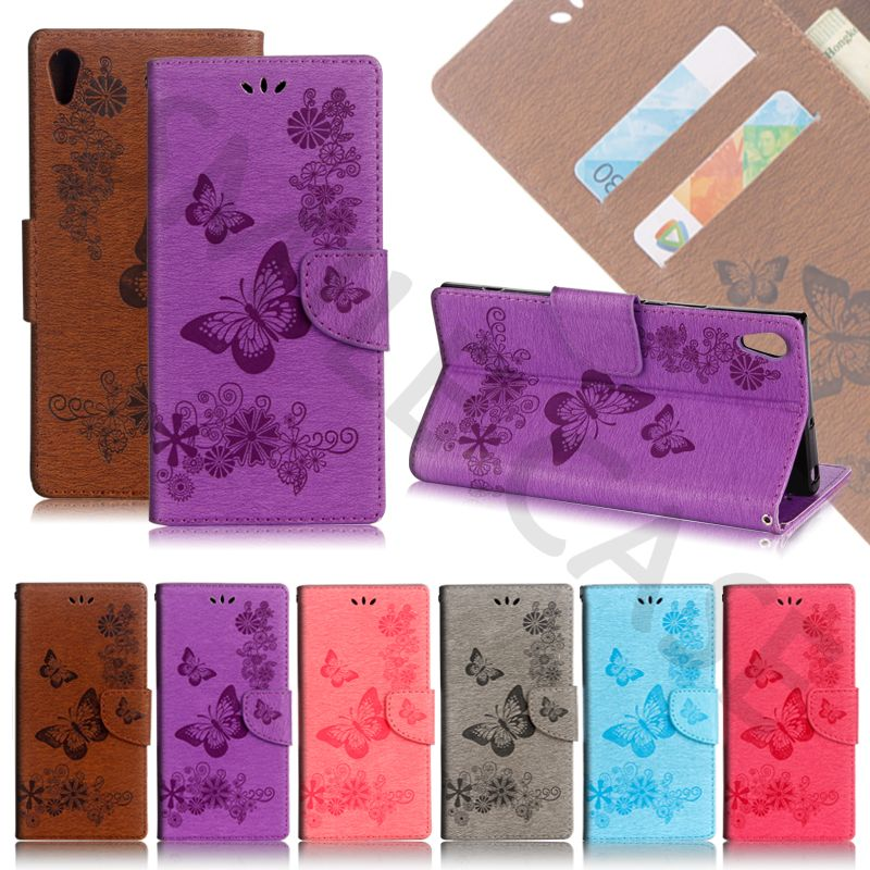 Smile Case for Sony Xperia E5 Bag L1 Bump Butterfly Phone Bags for Sony Xperia L1 Cover XA1 Ultra Cases XA Ultra Case E5 Cover