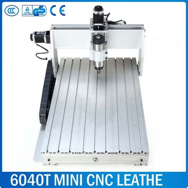6040 CNC router Frame milling machine mechanical kit ball screw Aluminum clamp can interchangeable 80mm