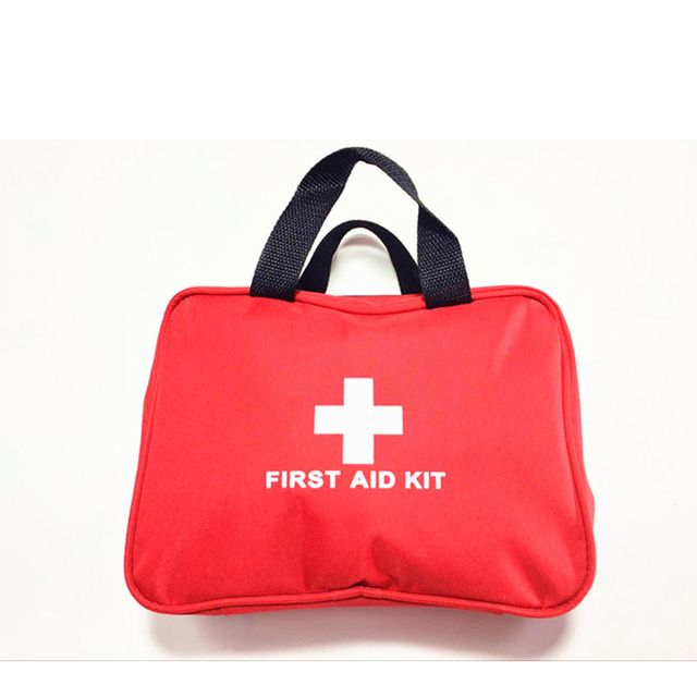 promotion first aid kit bag big car first aid kit large outdoor emergency kit bag travel camping survival medical kit 26x18x8cm