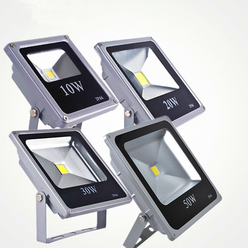 Ultra thin Led Flood Light 10w 20w 30w 50w IP65 Outdoor Floodlight Lamp Reflector 100w 220v Led Spotlight Garden Light Exterior
