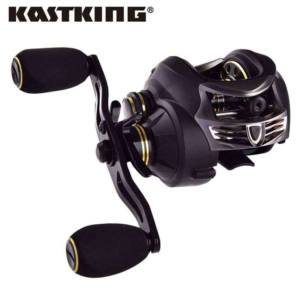 KastKing Stealth Full Carbon Body Max Drag 7.5kg Carp Fishing Baitcasting Reel Lure Fishing Reel Baitcaster