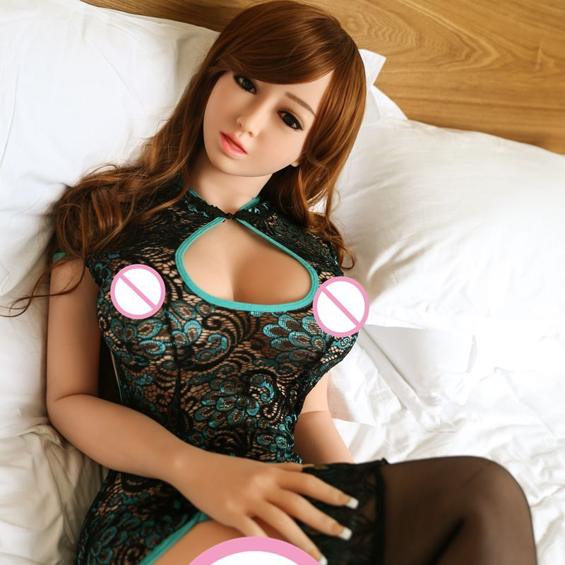 Pinklover 158cm New full silicone sex doll Metal Skeleton big breast japanese love doll male masturbator ass
