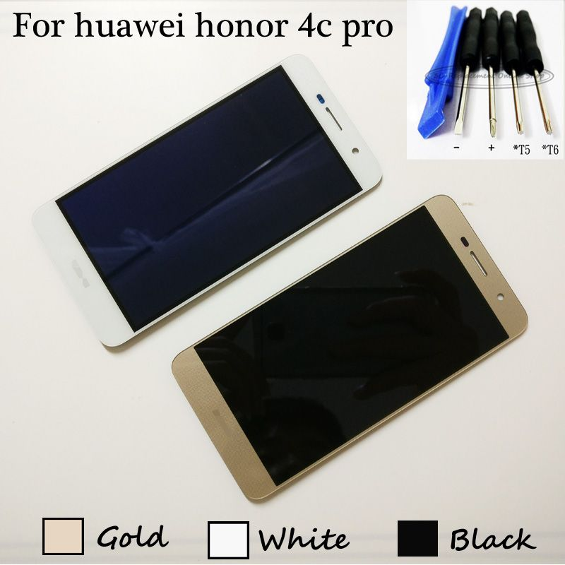 For huawei honor 4c pro TIT-L01 LCD Display + Touch Screen Digitizer Assembly Replacement + Tools (not fit for honor 4c)