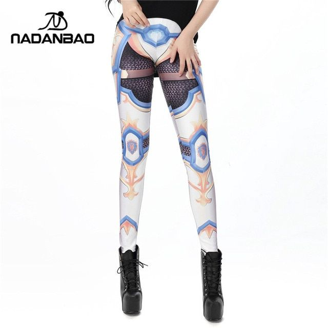 The WOW Alliance leggins Cosplay legins Printed Women leggings KDK1483