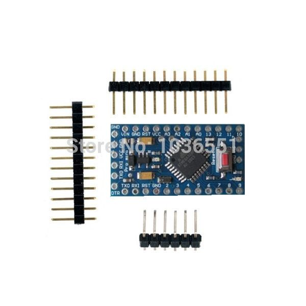 5pcs/lot Pro mini ATMEGA328P 5V 16MHz MEGA 328P for Arduino compatible Nano