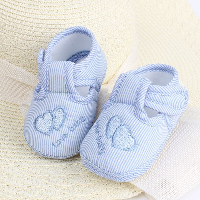 Newborn Shoes Baby First Walkers Girls Boy Kids Anti-Slip Toddler Shoes Soft Bottom New Born Baby Shoes