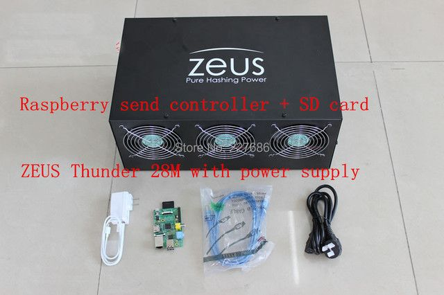 Zeus 28M LITECOIN miner Scrypt Miner All Solution!  28M  Litecoin machine! with power supply better than  gridseed MINER