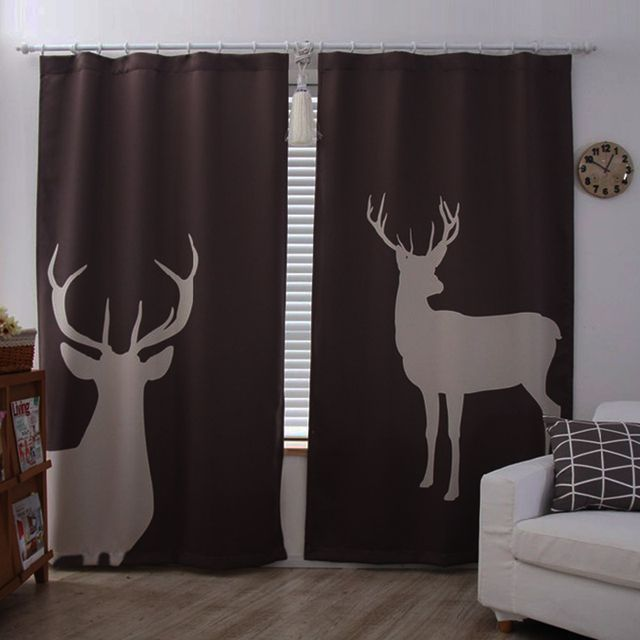 2016 new european window curtains for living room luxurious blackout 3d study children curtains for bedroom