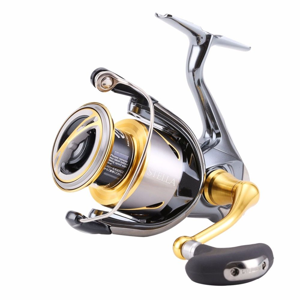 100% Original Shimano 2015 New Stella C2000S 2500 2500S C3000XG C3000HG 4000XG 13+1BB Spinning Fishing Reel Saltwater X-Ship