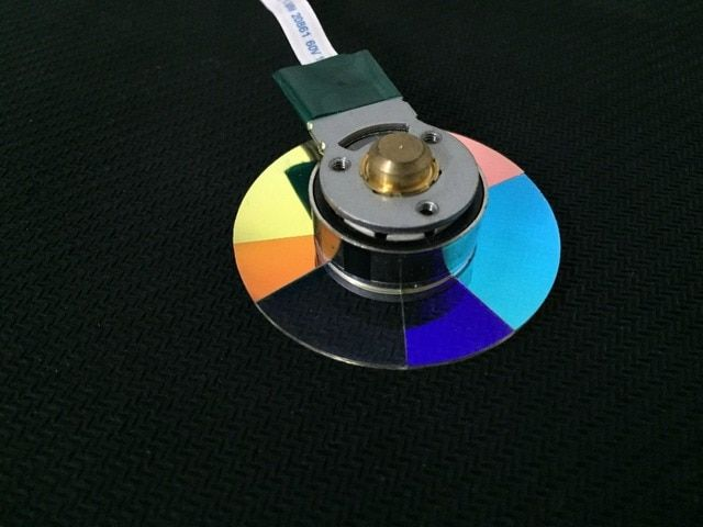 Brand New Original DLP Projector Color Wheel For Panasonic D5600