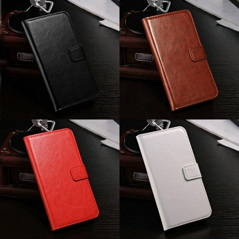 Flip Stand PU Leather Case Card Holder  Phone Strap Cases Wallet For Samsung Galaxy Ace Style Lte G357FZ / Ace 4 G357