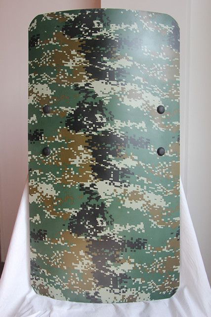 Anti-riot shields square PC Polycarbonate Camouflage riot shields custom protective security shield