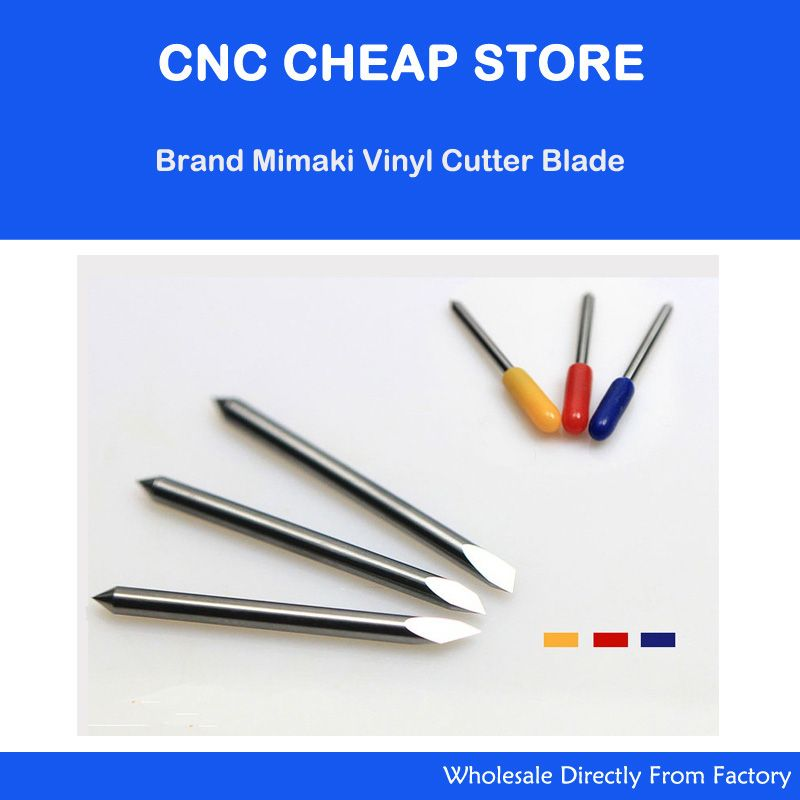 New 15 pcs 45/30/60 degree Mimaki blades cutting plotter Blade vinyl cutter Blade Knife