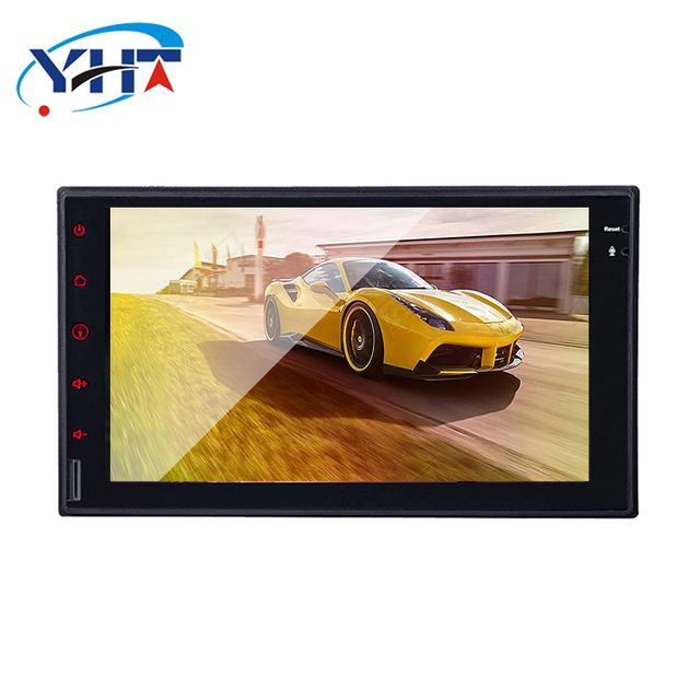 1024*600 2 DIN 7'' quad core  Android 8.01 Car Audio GPS Navigation FOR Nissan Qashqai Kia Ceed WIFI 3G
