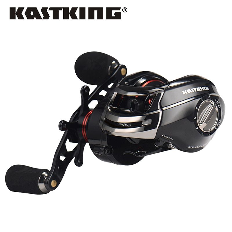 KastKing Royale Legend Right Left Hand Baitcasting Fishing Reel 12BB 7.0:1 Bait Casting Reel Carp Fishing Gear
