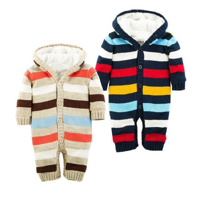 Winter Baby Romper Baby Rompers Winter Jackets for Baby Girls Clothing Spring Autumn Coats Overalls For Baby Boys Newborn Clothe