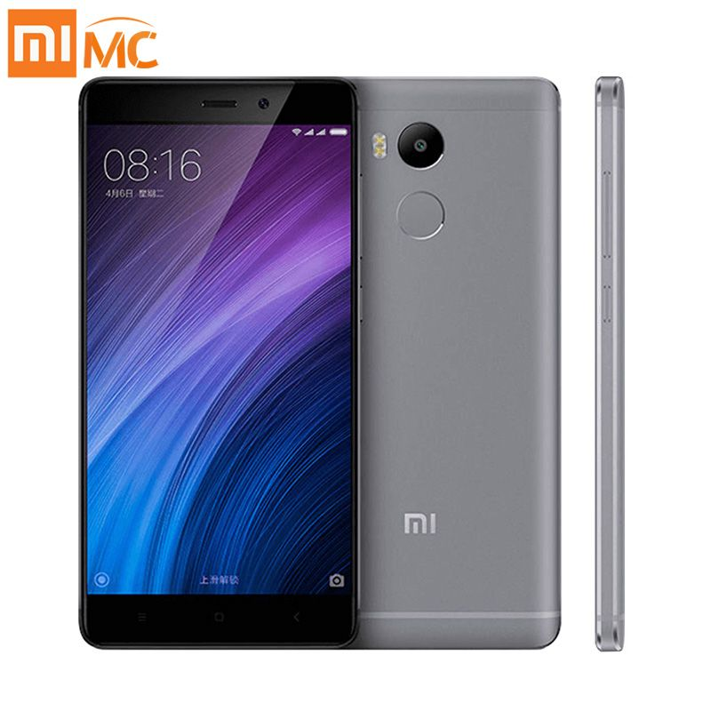 "Original Xiaomi Redmi 4 Pro Prime 3GB RAM 32GB ROM Mobile Phone Snapdragon 625 Octa Core 5.0"" FHD 13MP Camera 4100mAh redmi 4"