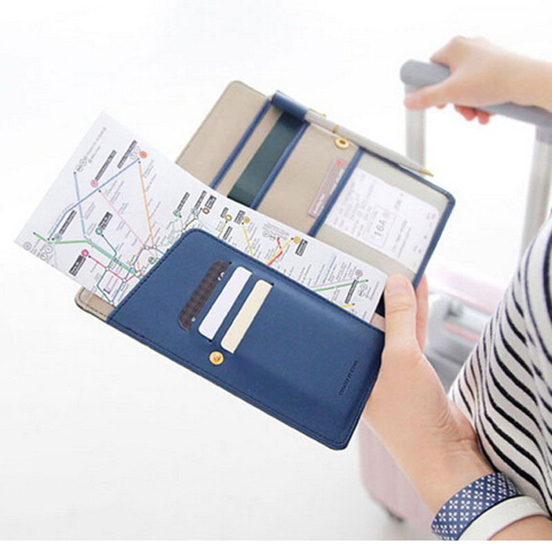 2015 new Travel Journey Fabric Passport cover ID Card Holder Case Cover Purse Organizer Ticket Passport Credit Card ID Document