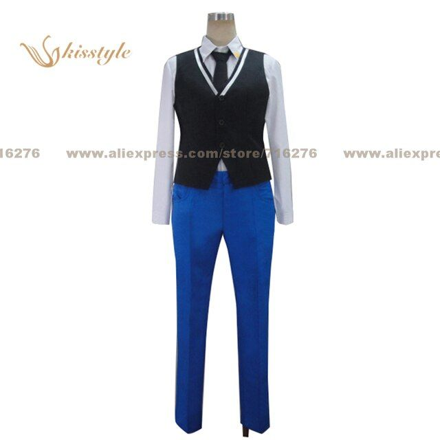 Kisstyle Fashion Uta no Prince-sama HE VEN Kira Sumeragi Uniform COS Clothing Cosplay Costume,Customized Accepted
