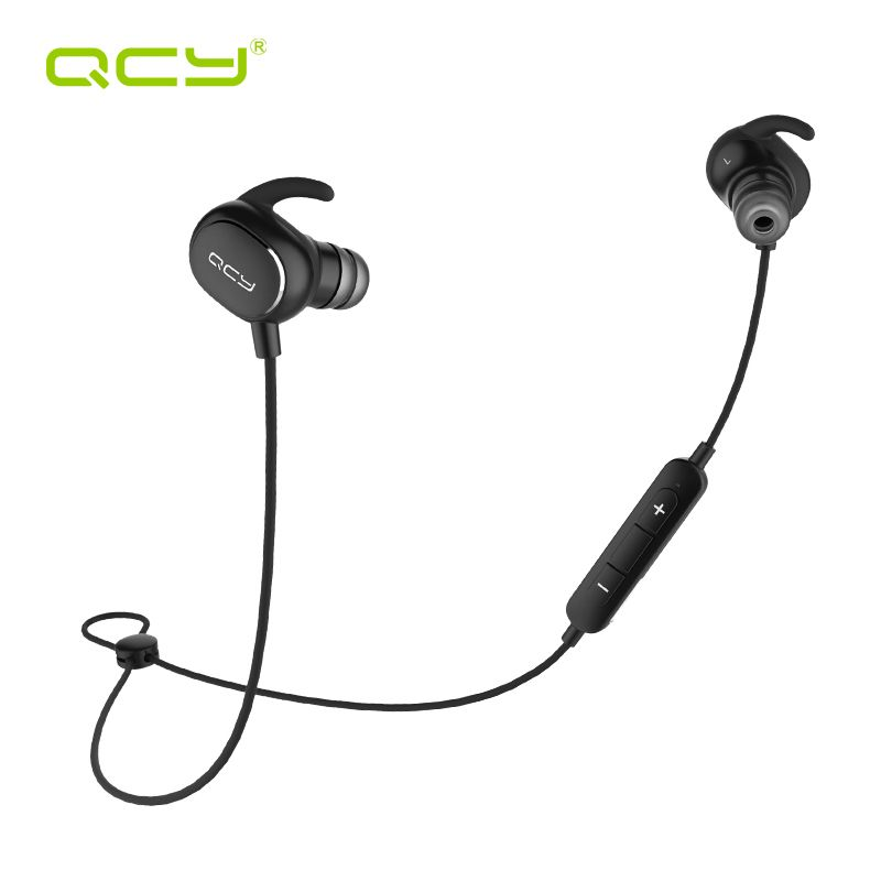 QCY QY19 sports earphones bluetooth V4.1 wireless headset HiFi aptx headset with MIC handsfree calls