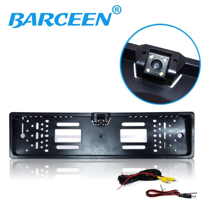 Reversing camera HD CCD EU European License plate universal rear view camera backup reverse back parking assistance system