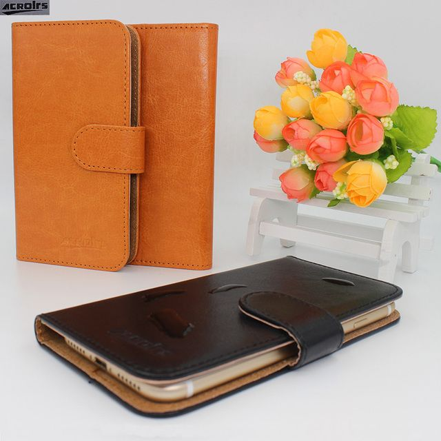 Hot! 2017 Nous NS 6 Case, 6 Colors High quality Full Flip Customize Leather Exclusive Cover Phone Bag Tracking