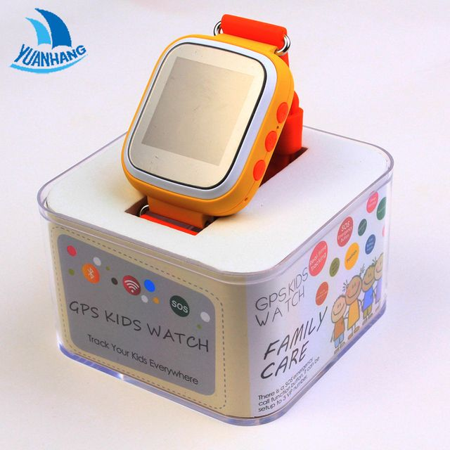 Smart GPS LBS 1.44' Colorful Screen Wristwatch SOS Call Location Finder Tracker Anti Lost Monitor Watch for Kid Child Q80 PK Q50