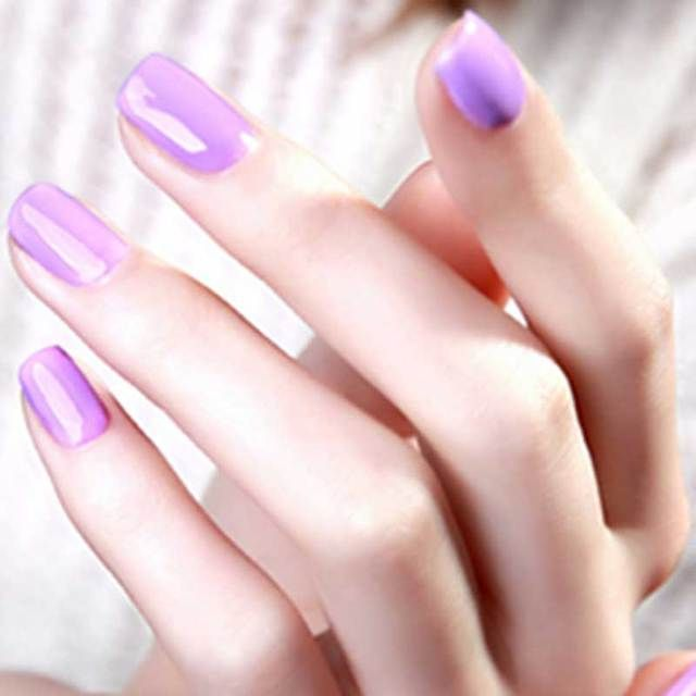 1pcs Pink Nail Glue10ml Gel UV Color Nail Polish  Long Lasting Gelpolish Nail Art uv  Gel Nail Polish