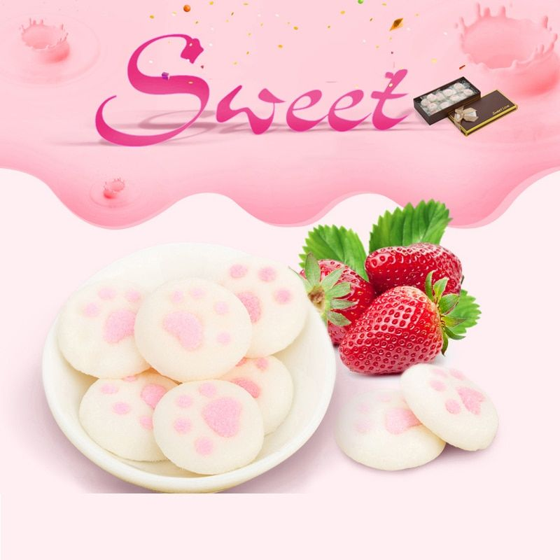Catlike Marshmallow Gift Box Taste Pretty Sweet Happy Birthday Wedding Holiday Party Sweet Love Confession Candy DSP56