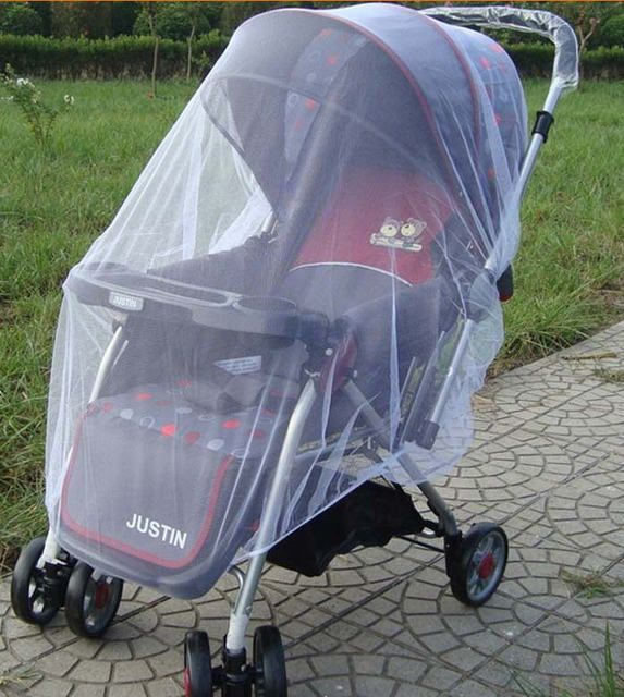 Infants Baby Stroller Mosquito Net Buggy Pram Protector Pushchair Fly Midge Insect Bug Cover cart Mosquito Net