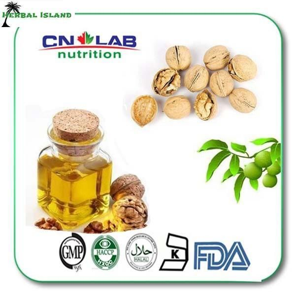 Free Shipping 100ml Bulk pure and natural cold pressed walnut oil pecan oil