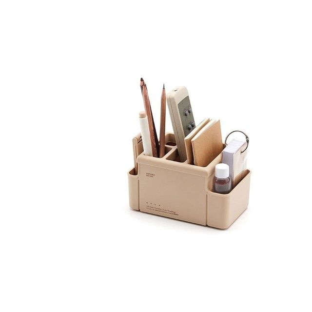 Creative fashion multi - functional living room small items storage box pen holder classification box stationery supplies