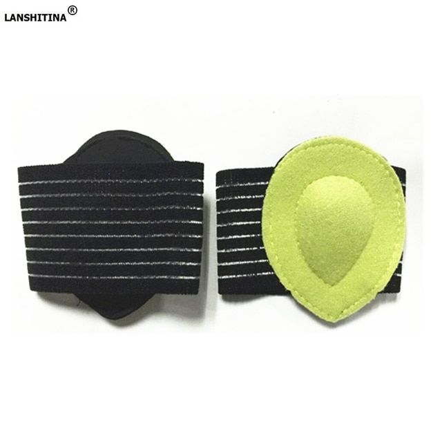 2018 Hot Sale Orthotic Insoles Massage Foot Pad Orthopedic Arch Supports Flat Protector Shoes Accessories Shoe Insert Feet Care