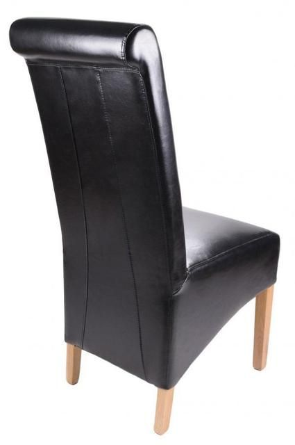 High Back Leather Chair Dining Chair Factory Express
