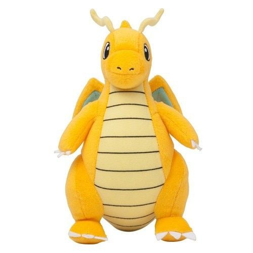 "Cartoon Plush Toy Dragonite 9"" Cute Collectible Soft Charizard Stuffed Animal Doll For Children's Gift"