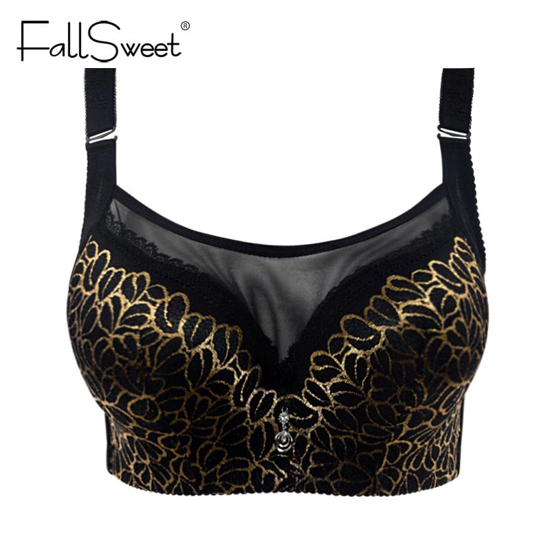 Women Sexy lace bra, big size Super Push Up bra,anti emptied brassiere, underwear Intimates lingerie  80 85 90 95 100 C / D