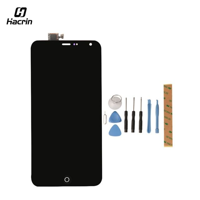 Hacrin for Meizu MX4 LCD Display+Touch Screen Tools Glass Panel Digitizer Accessories For Meizu MX4 M01-A M02-AA M03-AAA 5.36""