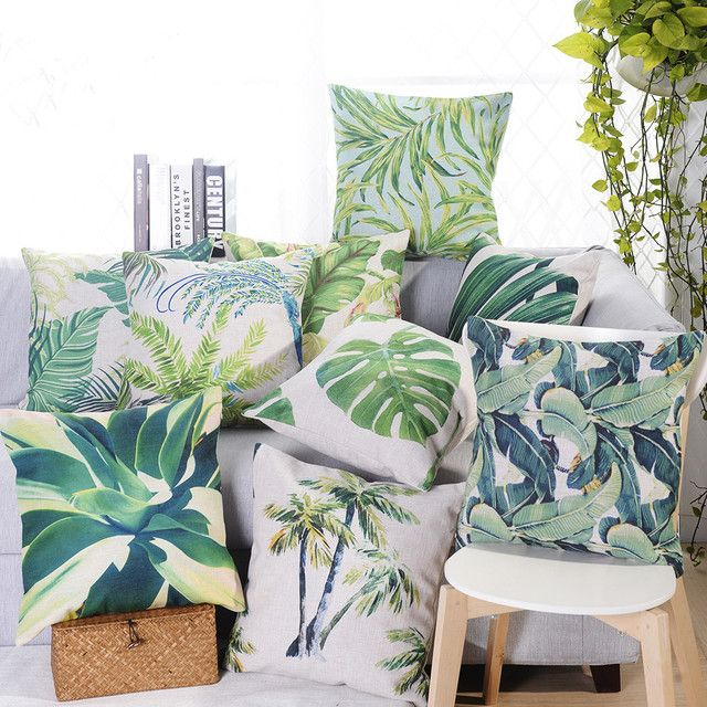 Free shipping custom 40/45/50/55/60cm polyester/cotton ImItated Linen Digital Print Flora Cushion Cover HT-CPILPC-CT-TS